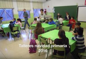 foto captura talleres navidad primaria 2016